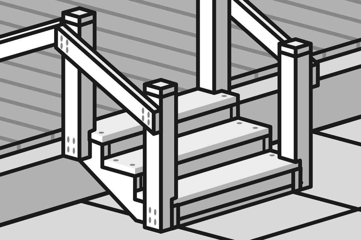 Terrassentreppe bauen   Anleitung von HORNBACH Luxemburg