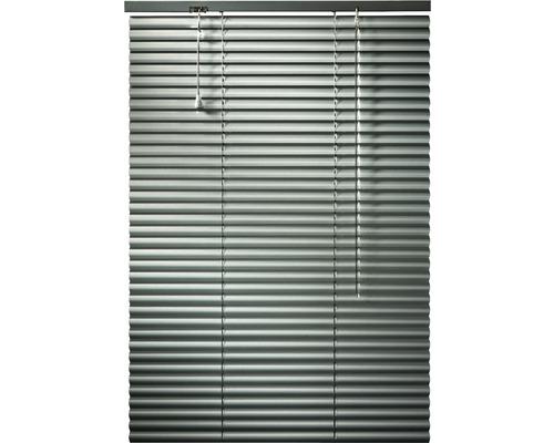 Store vénétien en aluminium argenté 60x160 cm