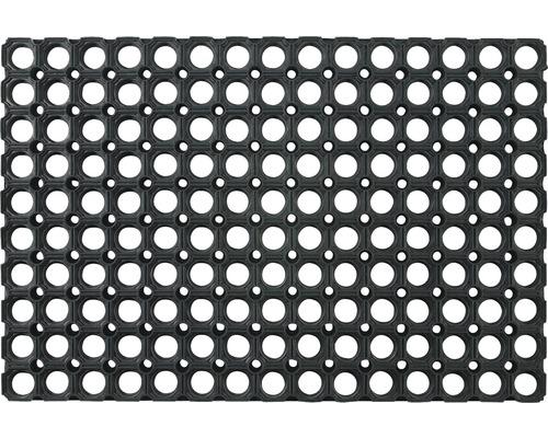 Paillasson alvéolé en caoutchouc Domino 40 x 60 cm