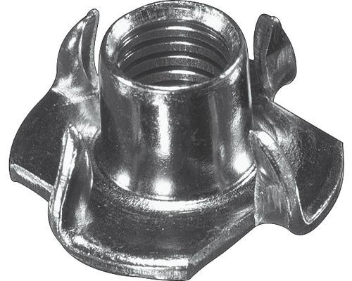 Écrou à frapper M4x6 mm galvanisé 10 pièces