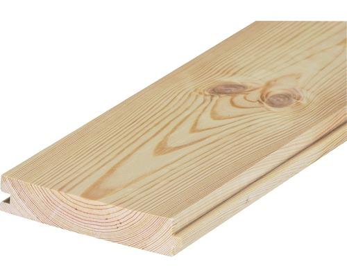 Panneau avec languettes et rainures pin non traité type B 23x121x2000 mm