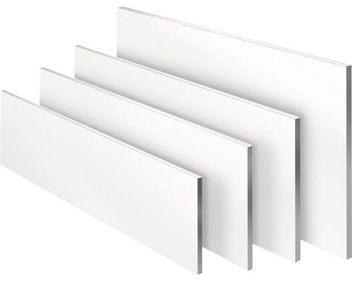 Etagère blanche 19x200x1200 mm