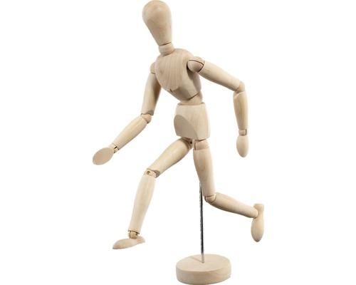 Mannequin en bois 30 cm
