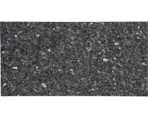 Carrelage de sol en granite Blue Pearl, 30.5x61 cm