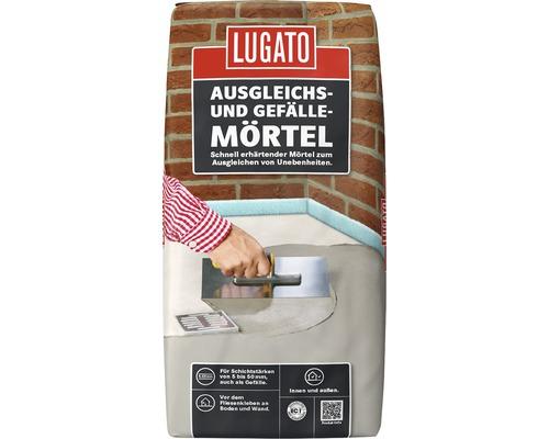 Enduit de ragréage Lugato Mortier de compensation et pour pentes 25 kg