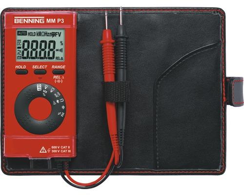 Multimètre numérique MM P3 Benning 044084