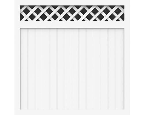 Élément principal BasicLine type O 150x150 cm, blanc