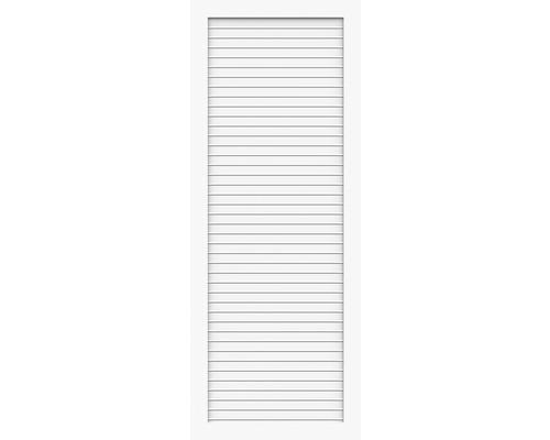 Élément partiel BasicLine type T 70x180 cm, blanc