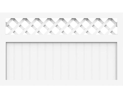 Élément principal BasicLine type K 150x90 cm, blanc