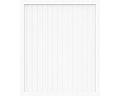 Elément principal BasicLine type A 150x180 cm, blanc