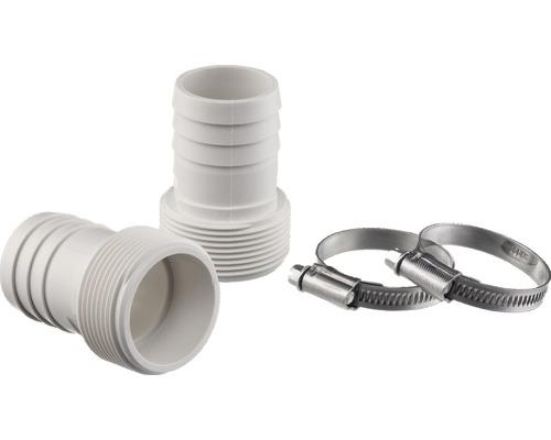 Embout de tuyau flexible 38 mm