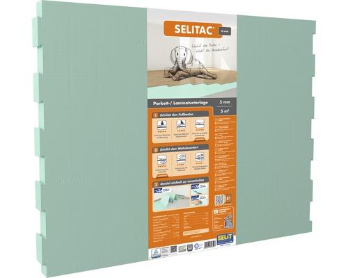Selitac XPS Faltplatte 5 mm grün Pack=5 m²