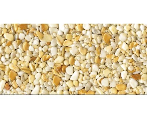 Kit de tapis de pierre 1m² Ravello gros jaune zone intérieure - sol