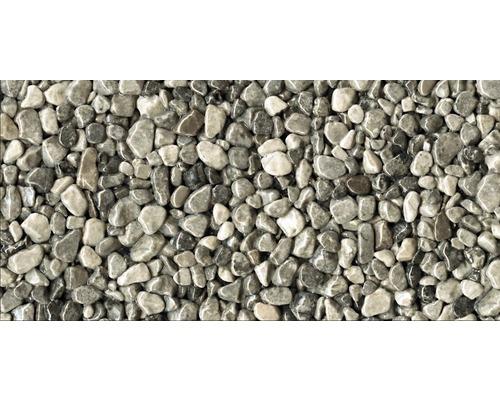 Kit de tapis de pierre 1m² Ravello gros gris zone intérieure - sol