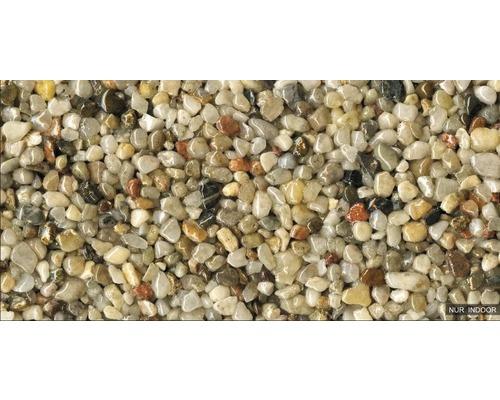 Kit de tapis de pierre 1m² Ravello gros naturel zone intérieure - sol