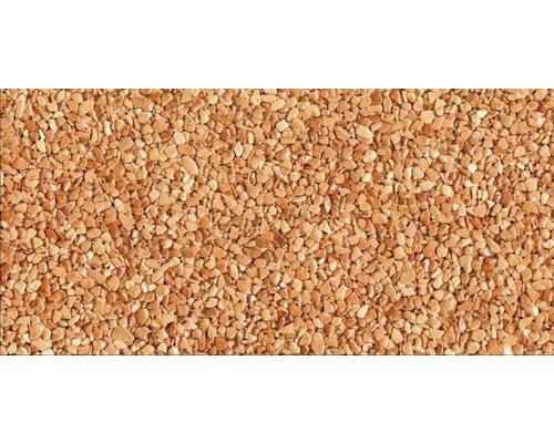 Kit de tapis de pierre 1m² Ravello fin rouge zone extérieure - sol