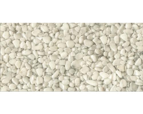 Kit de tapis de pierre 1m² Ravello gros blanc zone intérieure - sol