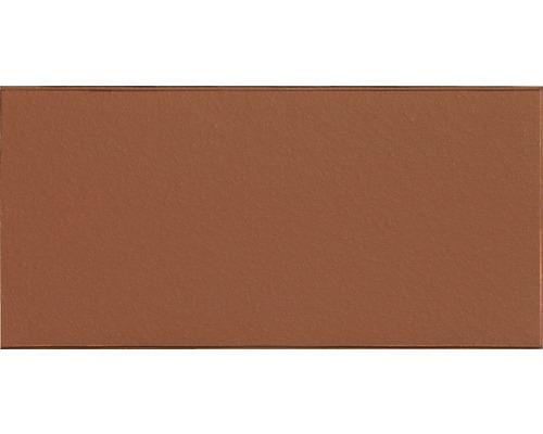 Plaque fendue rouge 11,5x24cm Non vitrifié