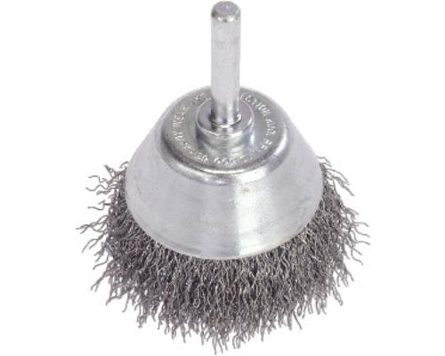 Brosse de surface Lessmann Ø 75 mm à fils d''acier, épaisseur du fil d''acier 0,35mm