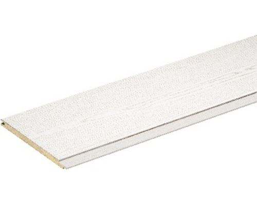 Panneau décoratif frêne blanc 8x150x2600mm