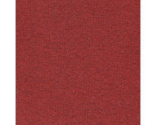Moquette velours Dusty rouge largeur 400 cm (marchandise vendue au mètre)