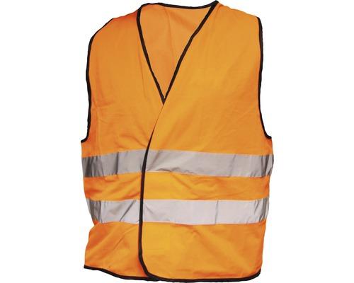 Gilet de sécurité orange fluo, taille universelle