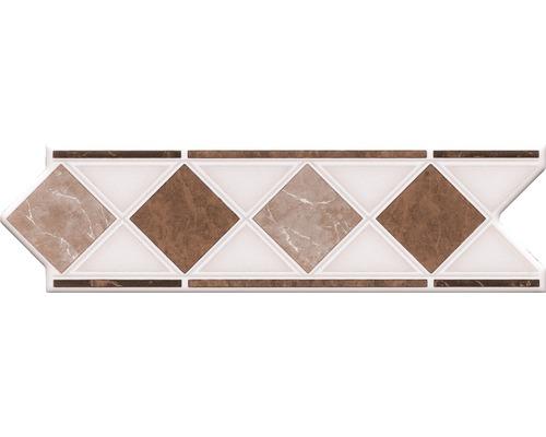 Bordure HP4, marbre beige, 20 x 6 cm