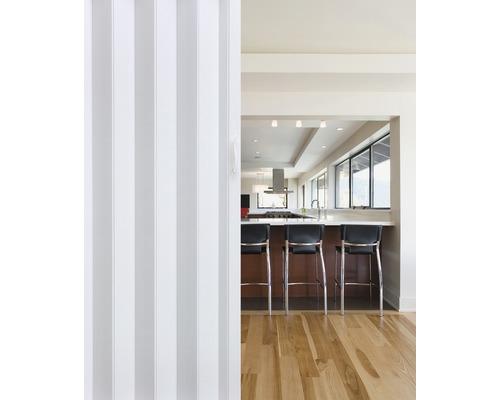 Porte accordéon blanc 205x81 cm
