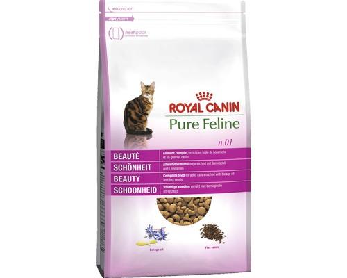 Nourriture sèche pour chats, ROYAL CANIN Pure Feline N° 1 Beauté 1.5g