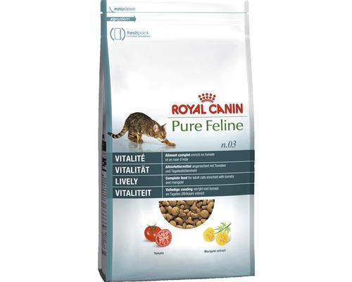 Nourriture sèche pour chats, ROYAL CANIN Pure Feline N° 3 Vitalité 1.5kg