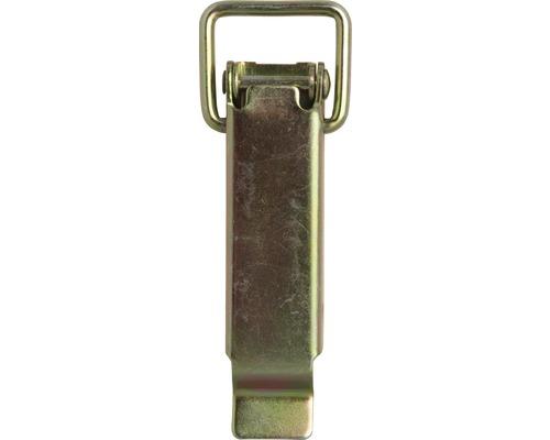 Kistenverschluss ohne Schließhaken, 93 x 24 mm, Galv. gelb verzinkt