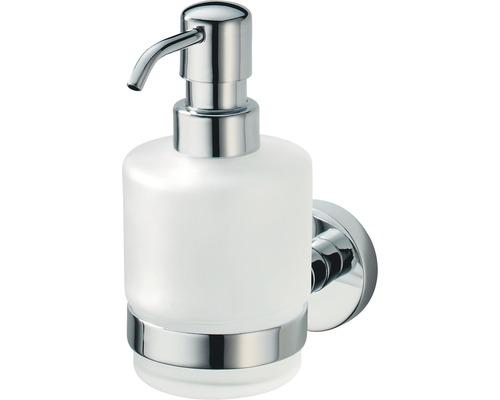 Distributeur à savon avec support Haceka Kosmos chromé