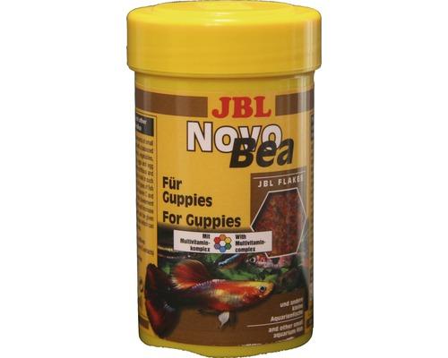 Flockenfutter Kleinflocken JBL NovoBea für Guppies 100 ml