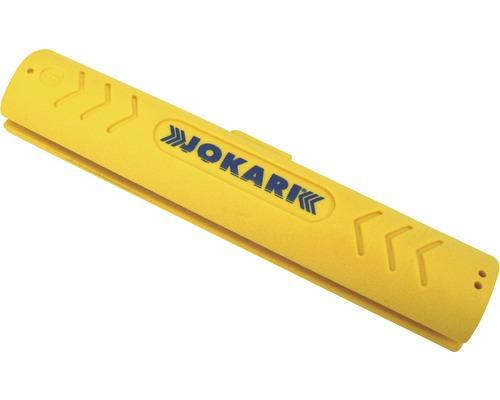 Couteau à dégainer les câbles coaxiaux jaune