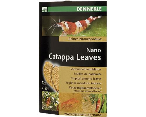 Dennerle Nano Catappa Leaves 12 unités