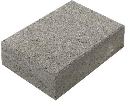 Bloc de marche en béton gris 50x35x15cm