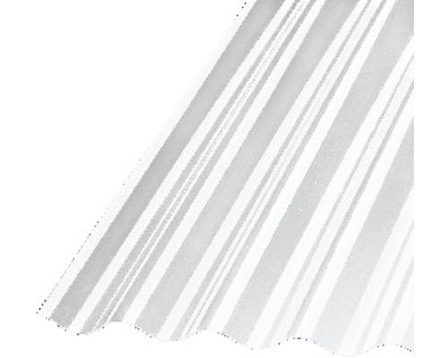 Plaque ondulée acrylique Sinus 76/18 transparent 2000x1045x1,5mm