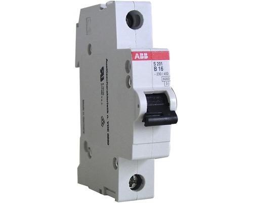 Disjoncteur automatique ABB S201-B16 16A B 1 pôle