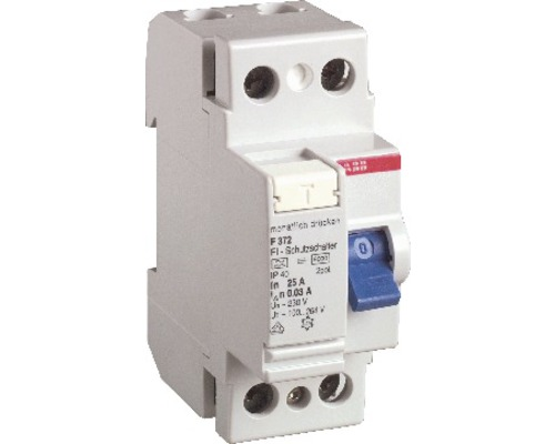Disjoncteur différentiel ABB F202A-40/0,03 40A interrupteur FI 30mA 2 pôles