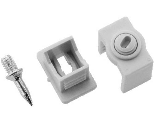 Colliers de fixation ISO simple 6 - 16 mm gris 10 pièces