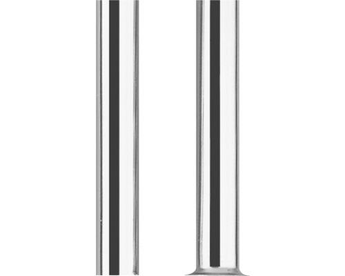 Conduit en cuivre chromé 10x500 mm