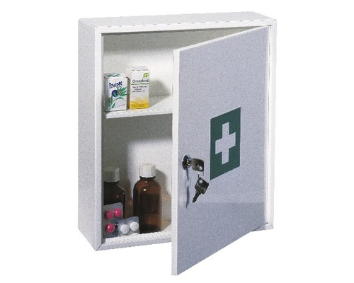 Armoire à pharmacie 360x315x110 mm blanche