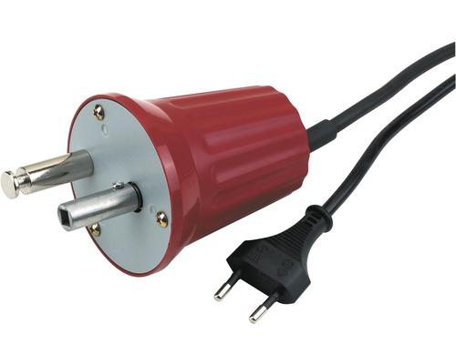Moteur de tournebroche pour barbecue électrique Chef raccordement au réseau 220V, convient pour broche carrée de 6,5 mm