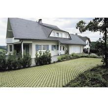 Pflasterstein Rasengitter Beton grau 60 x 40 x 8 cm-thumb-3
