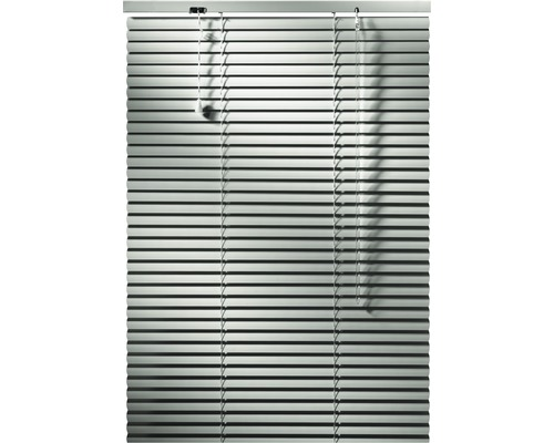 Store vénétien en aluminium blanc 60x160 cm