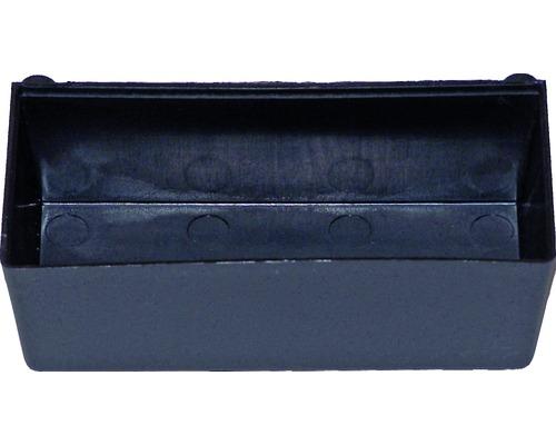 Support de rangement pour panneau perforé Küpper 125x55x40 mm
