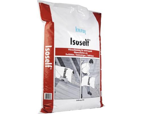 Granulé isolant KNAUF à la perlite Isoself pour couches isolantes non porteuses, 100 L