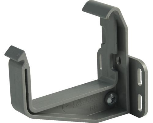 Marley Kastenrinnenhalter verstellbar Kunststoff grau Nennweite 70 mm
