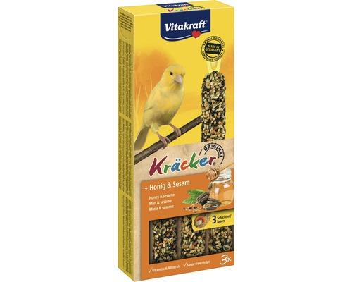 Vogelsnack, Vitakraft Kräcker® Honig Kanarien 3 Stk.