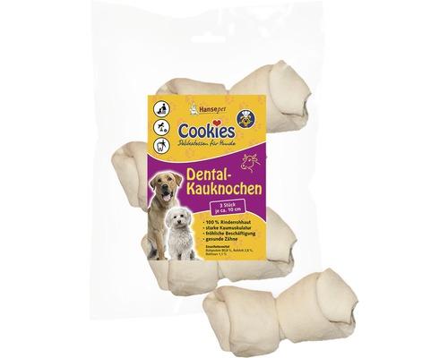 En-cas pour chiens, os à mâcher soin dentaire env. 10cm 3 unités